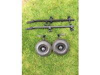 Daiwa tournament 500 seat box wheel kit