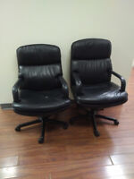 Office chairs and cabinets for sale