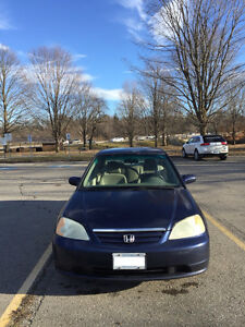 2002 Honda Civic -Manual