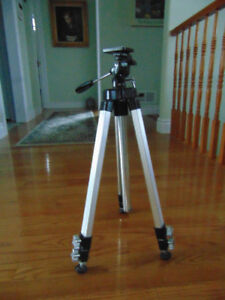 """Gold crest TF-9 Black and Grey Tripod 21 1/2 """" height"""