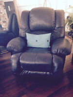 Recliner - leather