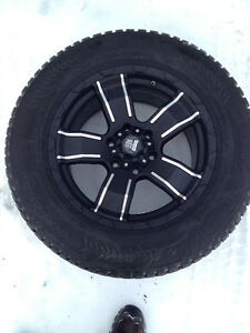 "Like New 18 "" Studded Winter Tires"