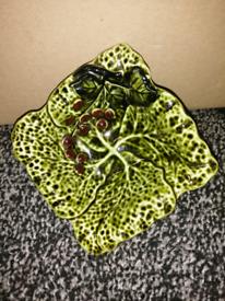 Floral Leaf Dish