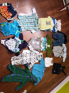 Linge bébé/enfants garcons de la naissance à 2 ans
