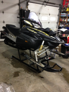 1000 cc Yamaha Rx1 Warrior long track 4 stroke with reverse