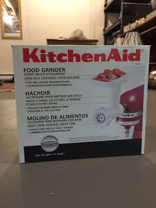 Kitchen Aid Food Grinder Attachment (For Food Processor) St. John's Newfoundland image 1