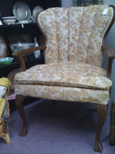 Antique armchair - perfect for re-covering project - SALE