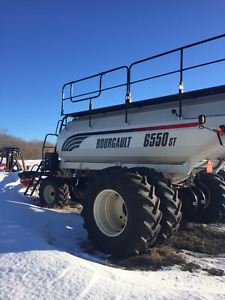 2012 Bourgault 6550ST Air Tank