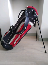 Dunlop Carry Stand Golf Bag with Titleist Shoulder Strap