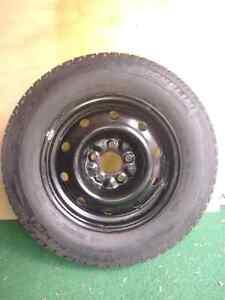 "15"" Winter Tires on rims."