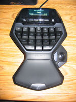 Logitech G600 gaming mouse and G13 gameboard
