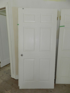 Various 6 Panel Interior Doors for sale-REDUCED