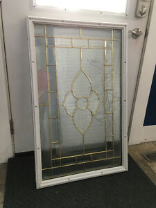 "22""x36"" Window insert for Exterior Door"