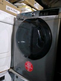 ➡️➡️SALE⬅️⬅️ GRAPHITE 10KG A+++ 1400RPM HOOVER WASHING MACHINE