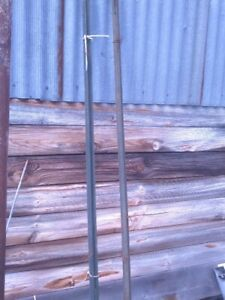 6 foot Metal Fence Posts. Approx 20 available at $4.00 each