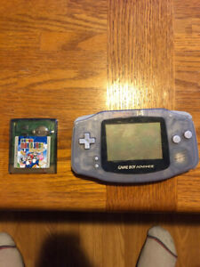 Selling Gameboy Advanced with Super Mario Bros Deluxe
