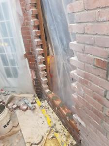 Réparation de maçonnerie et béton