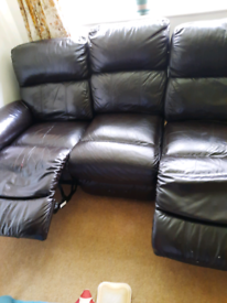 Sofa 3 seating fully electric