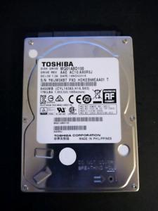 2.5inch 1TB laptop HDD