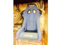 Sparco Evo 2 bucket seats
