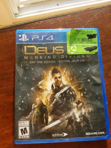 PS4  game DEUS EX