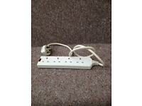 4 plug extension power board