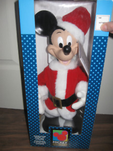 NEW Disney Animated Mickey Mouse Santa Claus Telco Christmas