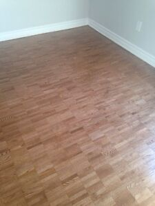 Hardwood floor care and installation experts !