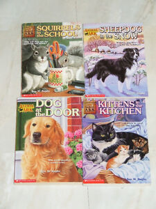 Four different books in Animal Ark series by Ben M. Bagliio
