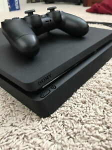 PS4 Slim 500Gb [New - 2 months old] with controller