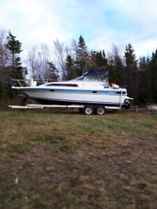 Selling my 28ft cabin cruiser boat