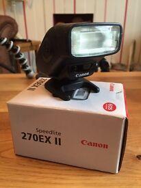 Canon speedlite 270 ex II CANON FLASH DSLR