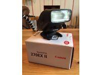 Canon speedlite 270 ex II CANON FLASH SLR