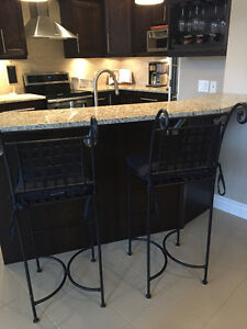 Selling two black Bar Stools from Pier 1