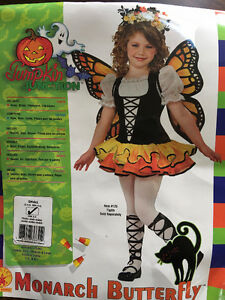 Monarch Butterfly Costume - Size 4-6
