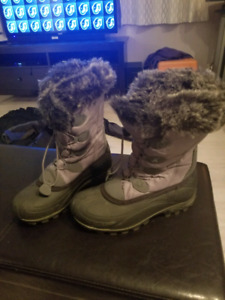 Ladies size 6 kamik winter boots