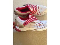 Ladies clima cool adidas trainers size 4
