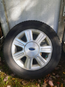 """16"""" Michelin x-Ice on Ford Rims"""