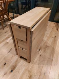 Gateleg Birch Table