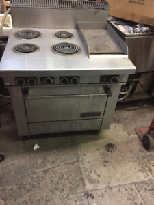 Grill and flat top 36 inch for restaurants