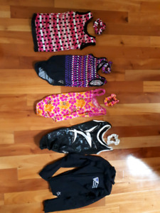 Gymnastic outfits uniforms