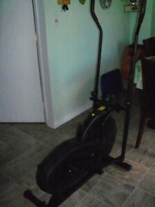 Elliptical exercize bike