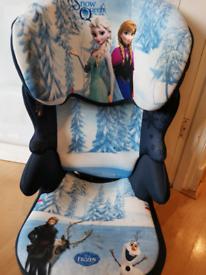 Disney Frozen Anna Elsa Befix Group 2-3 Car Seat