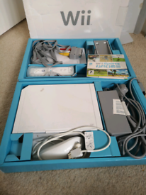Nintendo Wii plus sports game