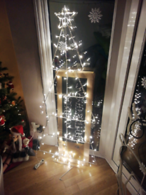 Brand New Twinkling 5ft Christmas Tree Silhouette decoration