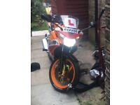 Honda CBR 125, Alarm, Xenon lights