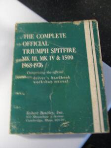 Triumph Spitfire Repair Manual