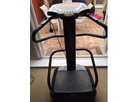 vibration plate (wobbler) fitness machine