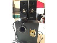 Multimedia Speakers 2.1 SPA4355/05 | Philips