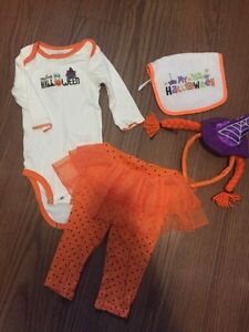 Baby girl 1st halloween size 9m carters